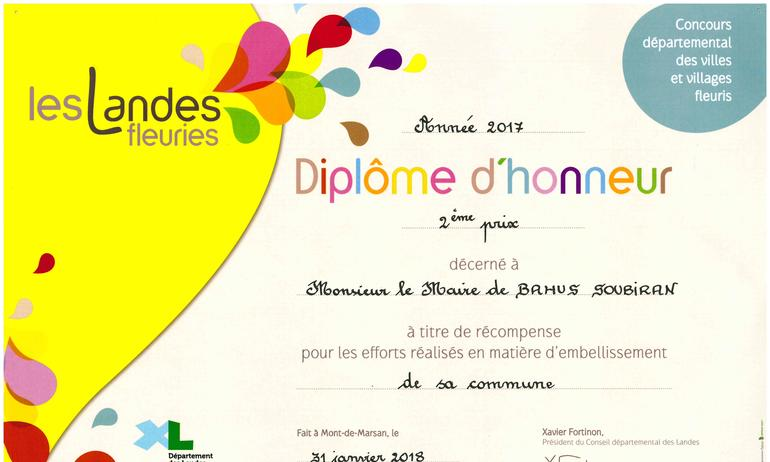 Rapport de la commission Villages fleuris